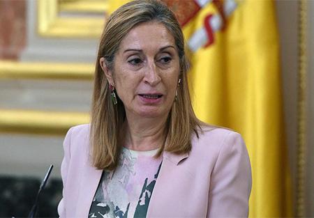 Ana Pastor del Partido Popular como Presidenta del Congreso de los Diputados