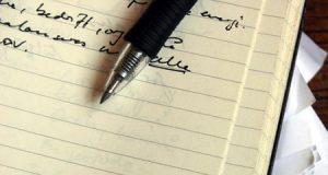 Cuaderno y un bolígrafo. Premio Internacional de Poesía