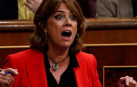 La Ministra de Justicia Dolores Delgado en el Congreso de los Diputados