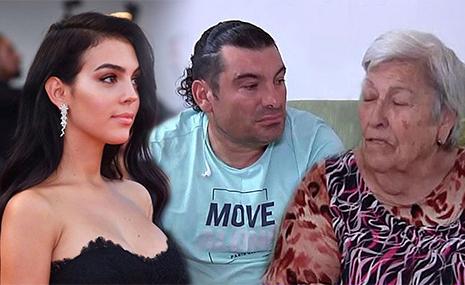 la familia de Georgina Rodriguez novia de Cristiano Ronaldo