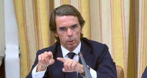 José María Aznar interviene en el Congreso de los Diputados sobre la corrupción del Partido Popular