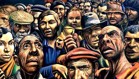 Oclocracia gobierno de la masa o muchedumbre