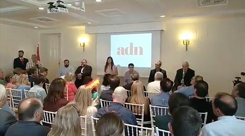 Presentación de la coalición electoral para las elecciones europeas, Ante Todo España ADÑ