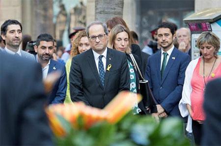 Quim Torra en la Diada de Cataluña el 11 de Septiembre
