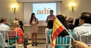 Acto de presentación de la coalición ADÑ Adelante España en Madrid