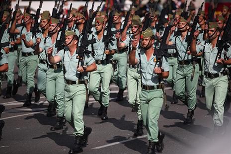Desfile militar de la Legión