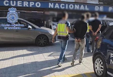 Detenidos militantes de extrema izquierda por poner bombas en Murcia