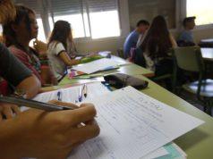 Filosofía en el bachillerato- Clase de filosofía en un aula de bachillerato