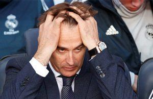Julen Lopetegui destituido del Real Madrid como entrenador