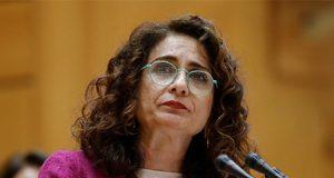 La ministra socialista de Hacienda María Jesús Montero
