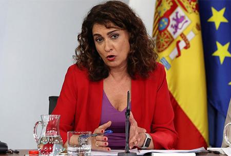 Maria Jesús Montero, Ministra socialista de Hacienda
