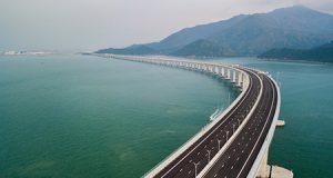 El puente mas largo del mundo sobre el mar