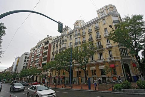 Viviendas en la ciudad de Madrid