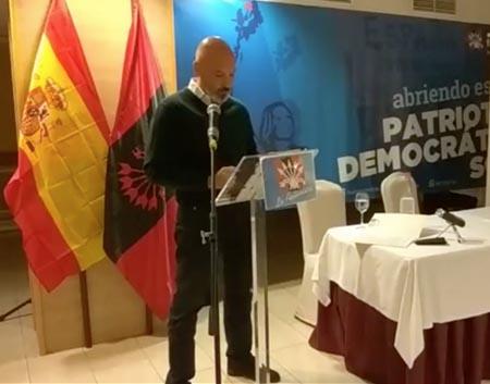 Antonio Perez Bencomo, Secretario General de Falange Auténtica
