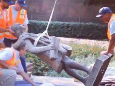 Estatua de Cristobal Colón en Los Ángeles