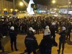 extrema izquierda ataca a miembros de VOX en Murcia