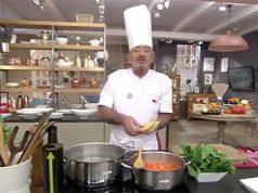 Karlos Arguiñano cuenta la historia de su padre en la División Azul en su programa de cocina
