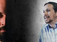 Santiago Abascal y Pablo Iglesias