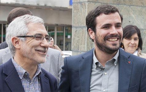 Gaspar Llamazares y Alberto Garzón
