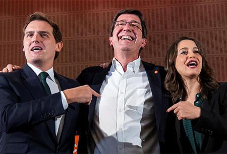 Albert Rivera, Marín e Inés Arrimadas