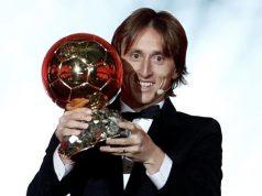Luka Modric Balón de Oro