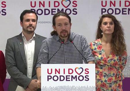 Pablo Iglesias convoca una alerta antifascista