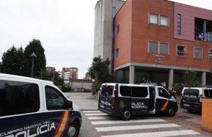 furgonetas de la Policía Nacional