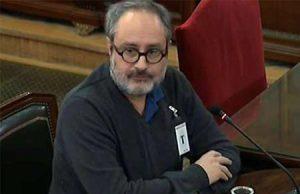El exdiputado de la CUP en el jucio sobre el Proces en el Tribunal Supremo multado
