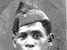 El falangista el negro Pereira en su paso por la Legión Española