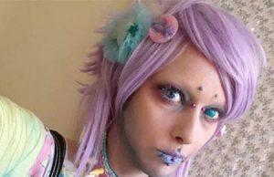 Jareth Nebula el trans que se hace extraterrestre