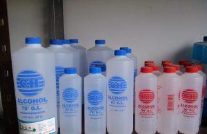 Alcoholes etílicos