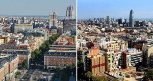 Las diferencias entre Madrid y Barcelona