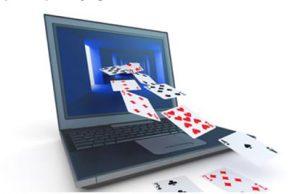 Ordenador con cartas. Juegos Online