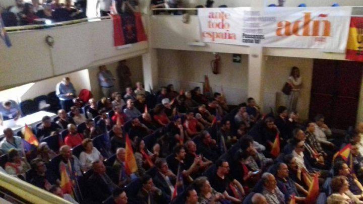 Acto electoral coalición ADÑ Ante Todo España