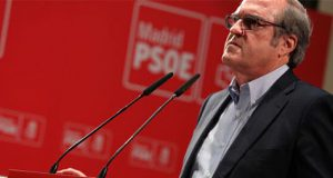 Gabilondo acto PSOE en Madrid