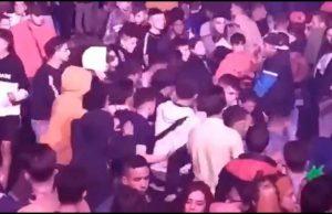 Pelea entre inmigrantes en Madrid
