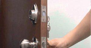 Puerta y cerradura