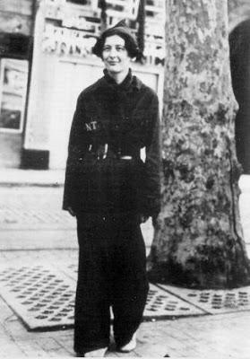 Simone Weil miliciana de la CNT