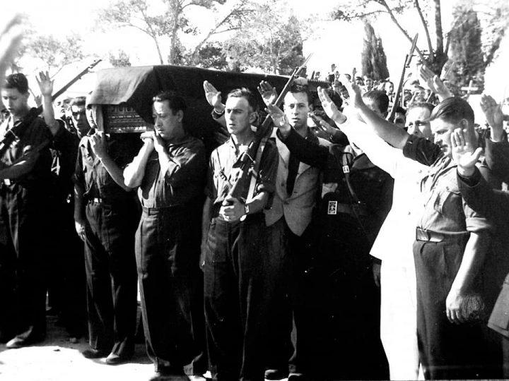 Fernando Zamacola y los Leones de Rota entierro