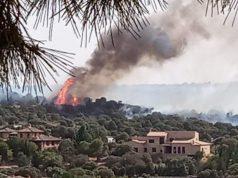 Incendio en Montesión en la ciudad de Toledo