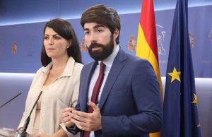 Manuel Mariscal y Macarena olona de VOX