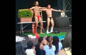 Desnudos en actos para niños con permiso de Ada Colau