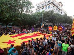 Manifestación de la Diada separatista en Barcelona