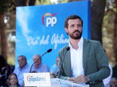 Pablo Casado acto Partido Popular