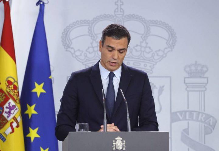 Pedro Sánchez en TVE