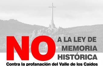 ADÑ contra la profanación del Valle de los Caídos