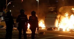 Barcelona y la violencia separatista