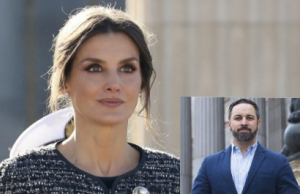 Reina Letizia y Santiago Abascal