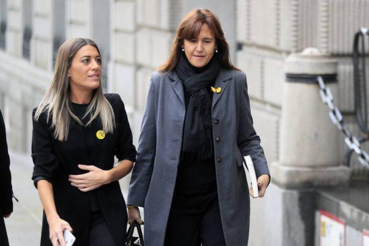 Laura Borras y Miriam Nogueras