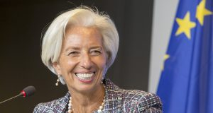 Christine Lagarde sobre los ancianos